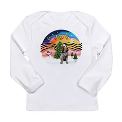 Xmusic2-Spinone (c) Long Sleeve Infant T-Shirt