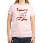 Darlene On Fire Women's Light T-Shirt