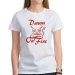 Dawn On Fire Women's T-Shirt