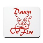 Dawn On Fire Mousepad