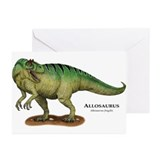 Allosaurus Greeting Cards (Pk of 20)