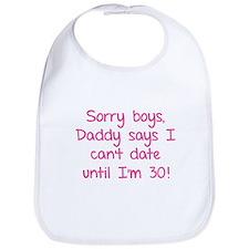 Sorry boys, daddy says I can't date Bib