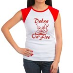 Debra On Fire Women's Cap Sleeve T-Shirt