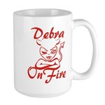 Debra On Fire Large Mug