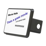 Funny Movies Rectangular Hitch Cover