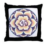Winter Love Mandala Throw Pillow