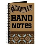 Marching Band Notes Journal