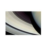 Rings of Saturn Rectangle Magnet (10 pack)