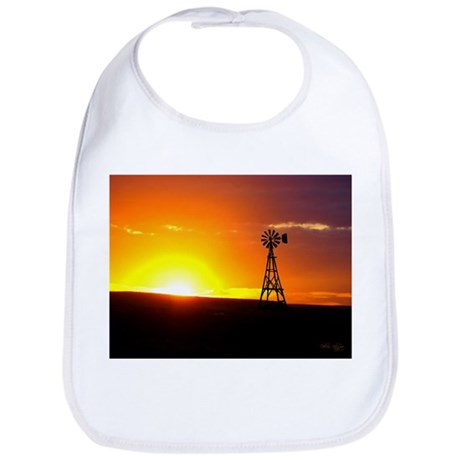 Windmill Sunset Bib