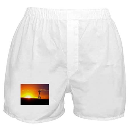 Windmill Sunset Boxer Shorts