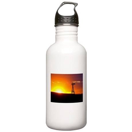 Windmill Sunset Stainless Water Bottle 1.0L