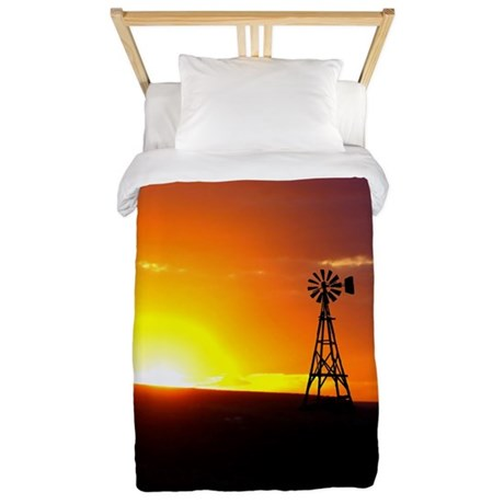 Windmill Sunset Twin Duvet