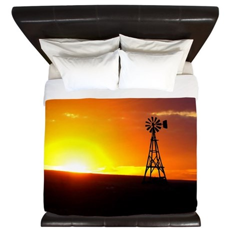 Windmill Sunset King Duvet