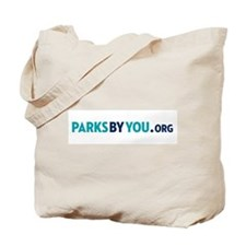 Parks By You logo Tote Bag