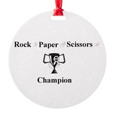 Champ Ornament