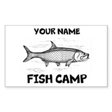 Custom Fish Camp Decal