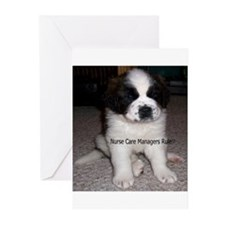 Nurse Care Manager Greeting Cards (Pk of 10)