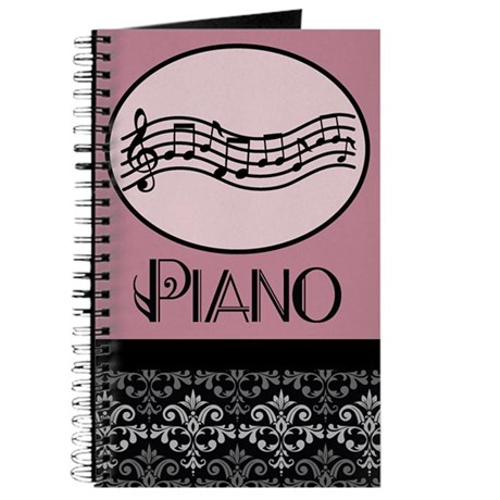 Piano Music Lesson Notes Journal