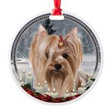 Yorkie Ornament