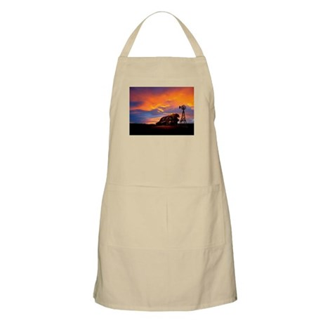 God is Watching Sunset Apron