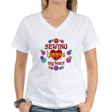 Sewing Happy Shirt