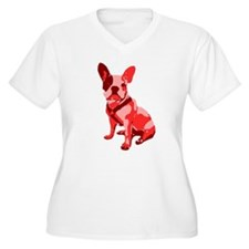 Bulldog Retro Dog T-Shirt