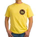 Masonic Biker Brothers Yellow T-Shirt