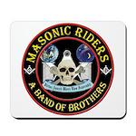 Masonic Biker Brothers Mousepad