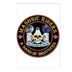 Masonic Biker Brothers Postcards (Package of 8)