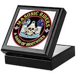 Masonic Biker Brothers Keepsake Box
