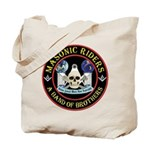 Masonic Biker Brothers Tote Bag