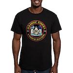 Masonic Riders Men's Fitted T-Shirt (dark)