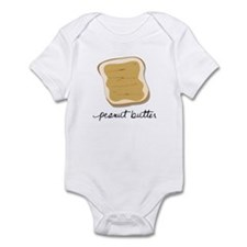 Funny Peanut butter Infant Bodysuit