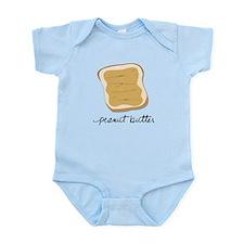 Cute Peanut butter Infant Bodysuit