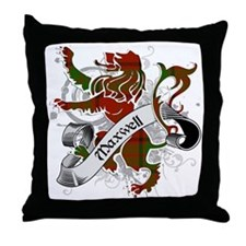 Maxwell Tartan Lion Throw Pillow
