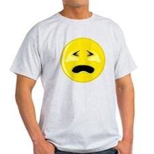 Crying Smiley Face T-Shirt