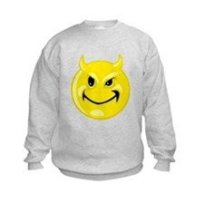 Devil Smiley Face Sweatshirt