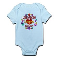Line Dancing Happy Infant Bodysuit