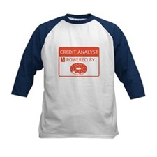 Credit Analyst Powered By Doughnuts Tee