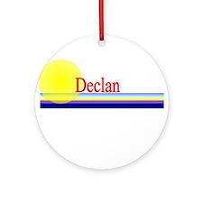 Declan Ornament (Round)