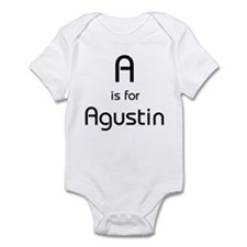 A Is For Agustin Infant Creeper