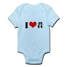 I Heart Music Infant Bodysuit