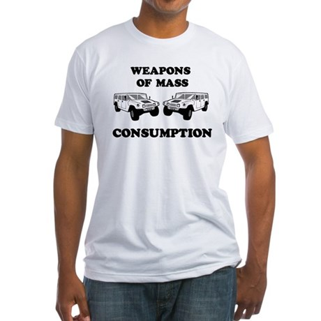 SUV Consumption Fitted T-Shirt