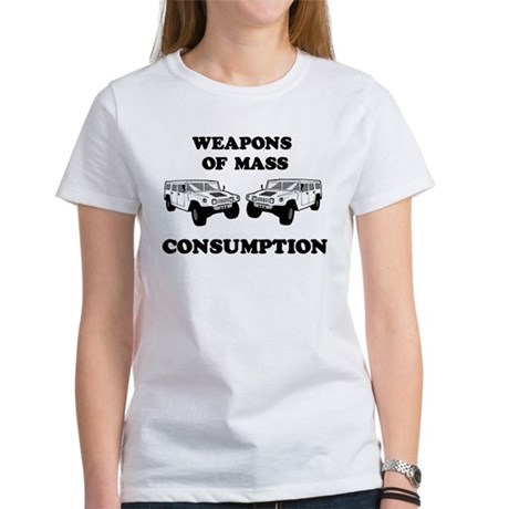 SUV Consumption Women's T-Shirt