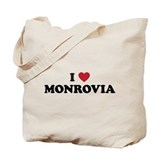 I Love Monrovia Tote Bag