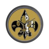 fdl bling.jpg Wall Clock