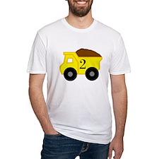 Second Birthday Dump Truck Shirt