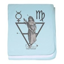 Virgo the Virgin baby blanket