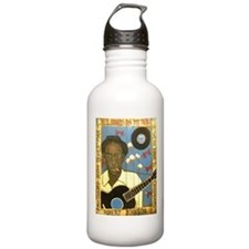 Robert Johnson Hell Hound On My Trail Water Bottle