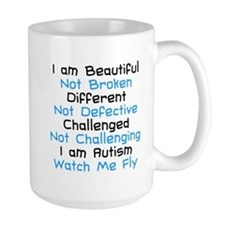 Iam Autism Watch Me Fly Mug